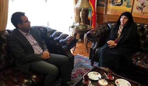 دیدار دکتر صادقی با سفیر ایران درمالزی