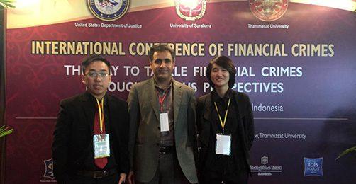 همایش بین المللی مبارزه با جرایم مالی اندونزی
